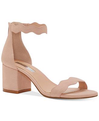 Inc International Concepts Hadwin Scallop Block Heel