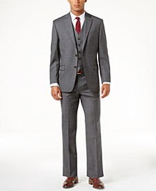 Classic-Fit Solid Ultraflex Suit Separates