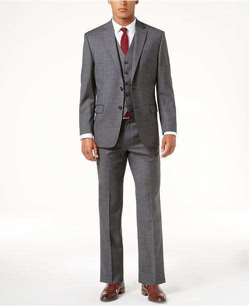 b932ea4bb Classic-Fit Solid Ultraflex Suit Separates