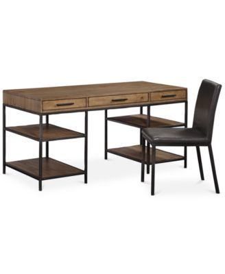 Gatlin Home Office 2-Pc. Furniture Set (Desk & Desk Chair), Created for Macy's