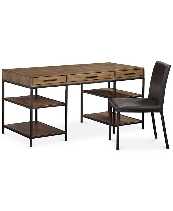 Furniture Gatlin Home Office 2-Pc. Furniture Set (Desk & Desk Chair), Created for Macy's