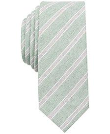 Original Penguin Men's Pearl Stripe Skinny Tie