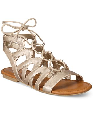 American Rag Marlie Lace-Up Sandals, Created for Macy's