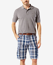 "Dockers Men's Stretch Classic Fit Washed Cargo 10.5"" Shorts D3"
