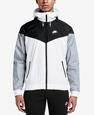 Nike Men S Windrunner Colorblocked Jacket Hoodies