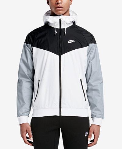 Nike Men's Windrunner Colorblocked Jacket - Men - Macy's