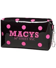 Dani Accessories Macy's Polka Dot Makeup Bag, Created for Macy's