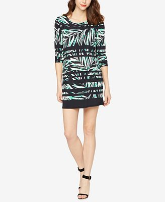 BCBGMAXAZRIA Maternity Printed Shift Dress