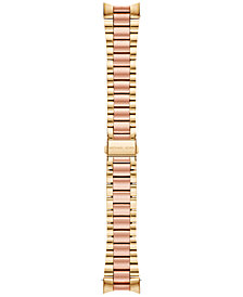 Michael Kors Access Women's Bradshaw Two-Tone Stainless Steel Bracelet Smart Watch Strap MKT9025