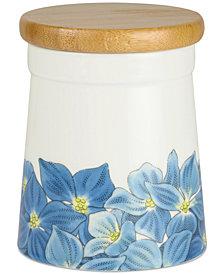 """Portmeirion Botanic Garden Blooms  Hydangea 5.5"""" Storage Jar"""