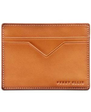 Perry Ellis Men's Leather Card Case 2639186