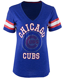 G-III Sports Women's Chicago Cubs Triple Play T-Shirt