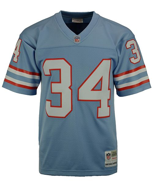 official photos 8ce70 15349 Men's Earl Campbell Houston Oilers Replica Throwback Jersey