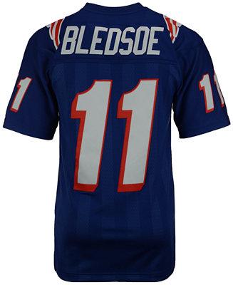 Mitchell & Ness Men's Drew Bledsoe New England Patriots Replica ...