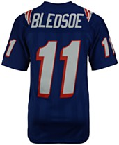 5d1156838 Mitchell   Ness Men s Drew Bledsoe New England Patriots Replica Throwback  Jersey