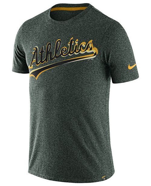 Nike Men's Oakland Athletics Marled T-Shirt