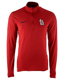 Nike Men's St. Louis Cardinals Dry Element Half-Zip Dri-FIT Pullover