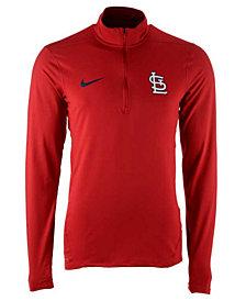 Nike Men's St. Louis Cardinals Dry Element Half-Zip Dri-FIT Pullover