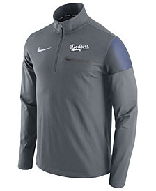 Nike Men's Los Angeles Dodgers Half-Zip Elite Pullover