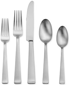 Oneida Satin Lewin 65-Pc Set, Service for 12