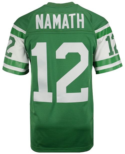 the latest c9280 a4594 Men's Joe Namath New York Jets Replica Throwback Jersey