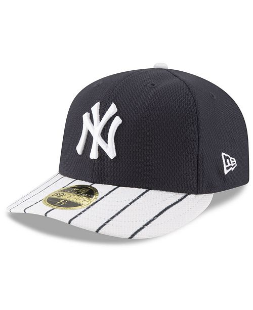 1e86c06dd33d62 ... New Era New York Yankees Batting Practice Diamond Era Low Profile 59FIFTY  Fitted Cap ...