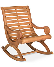 Eleanora Outdoor Rocking Chair, Quick Ship