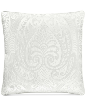 J Queen New York Bianco 18 Square Decorative Pillow Bedding