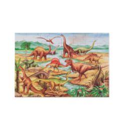 Melissa and Doug Toy, Dinosaurs Floor Puzzle (48 pc) - Dinosaur Toy