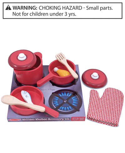 melissa and doug toy kitchen accessory set toys games kids baby macy 39 s. Black Bedroom Furniture Sets. Home Design Ideas