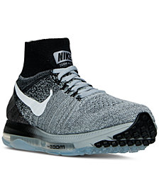 Nike Men's Zoom All Flyknit Running Sneakers from Finish Line
