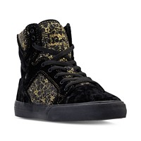 Supra Skytop Disney Beauty and The Beast Girl's Casual Sneakers (Black)