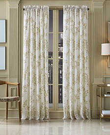 """J Queen New York Winslow Sheer 52"""" x 108"""" Window Panel"""