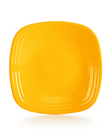 Fiesta Daffodil Square Luncheon Plate