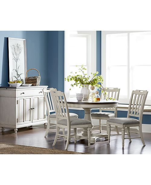 Furniture Barclay Round Expandable Dining Furniture Collection