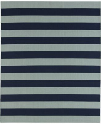 Portico Riviera Stripe  8' x 10' Indoor/Outdoor Area Rug