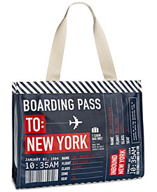Macy's New York Boarding Pass Tote, Created for Macy's