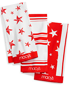 Macy's Set of 3 Dish Towels, Created for Macy's