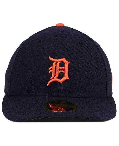 reputable site 465e8 17730 ... ebay new era detroit tigers low profile ac performance 59fifty cap  sports fan shop by lids