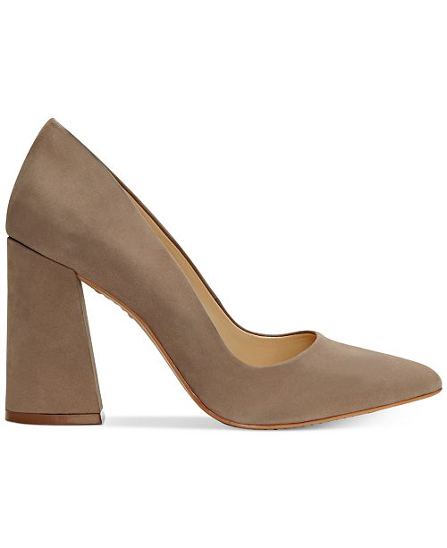 2bab00ee75 Vince Camuto Talise Pointed Block-Heel Pumps & Reviews - Pumps ...