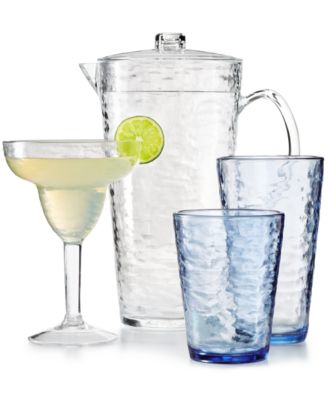 martha stewart collection acrylic drinkware collection created for macyu0027s