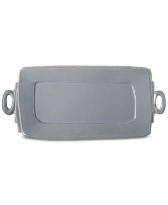 Lastra Collection Handled Rectangular Platter