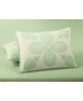 Maui Medallion Cotton Quilted Standard Sham, Created for Macy's