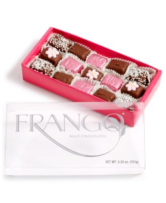 15-Pc. Flower Decorated Dark Chocolate Box of Chocolates