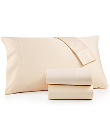 CLOSEOUT! Brookstone Queen 4-pc Sheet Set, 500 Thread Count 100% Cotton Sateen, Created for Macy's