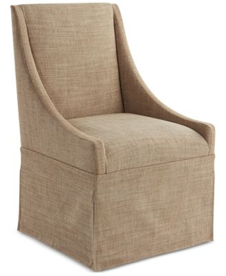 jameson upholstered castered dining chair