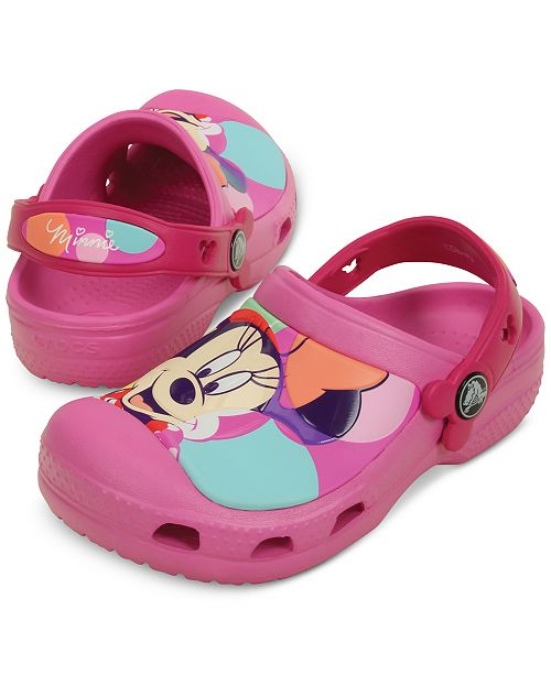 c4881a729e34 ... Crocs Minnie Mouse Colorblock Clogs