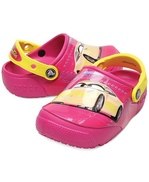 33609e29102a ... Crocs Fun Lab Lights Cars Clogs