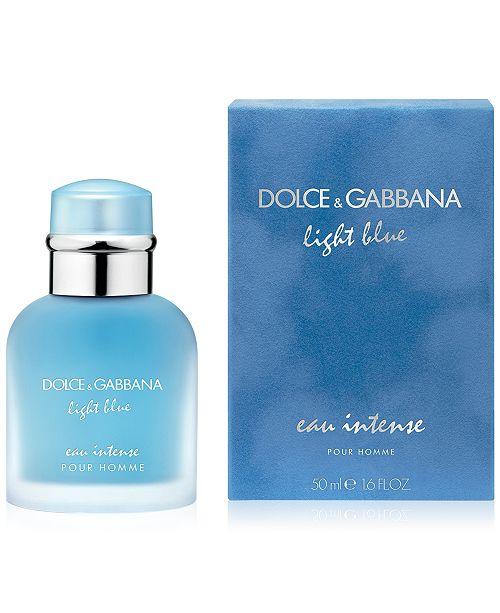 69778c41fbb6 Dolce   Gabbana DOLCE GABBANA Men s Light Blue Eau Intense Pour Homme Eau  de Parfum Spray