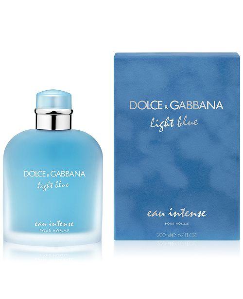 De amp;gabbana Eau Intense Men's Spray6 Parfum Light 7 Oz Blue Homme Dolce Pour SMGUqpzV